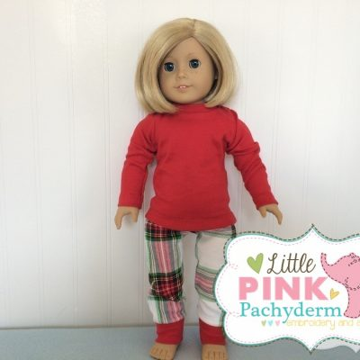 plaid-doll-set